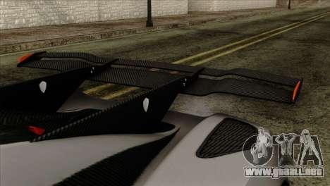 Koenigsegg One 1 para la visión correcta GTA San Andreas