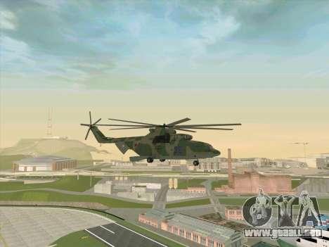 Mi 26 para la visión correcta GTA San Andreas