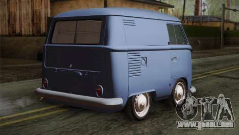 Volkswagen T1 Short para GTA San Andreas left