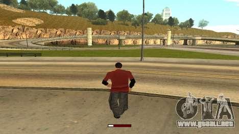 SprintBar para GTA San Andreas tercera pantalla
