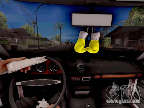 VAZ 2106 Clásico para la visión correcta GTA San Andreas