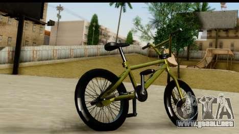 GTA 5 BMX para GTA San Andreas left