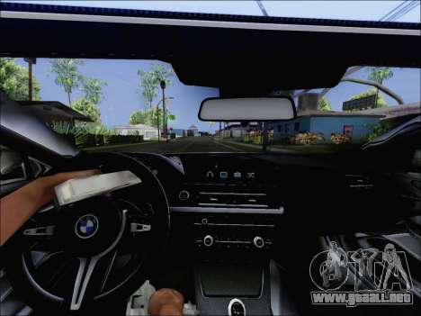 BMW M6 Cabriolet 2012 para la visión correcta GTA San Andreas
