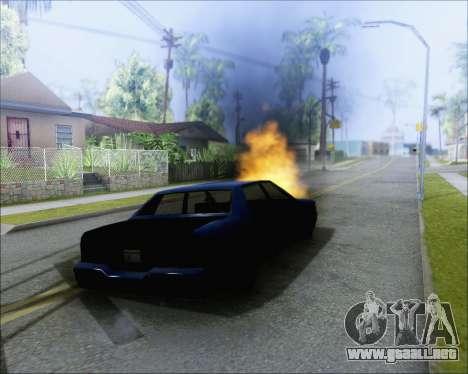 Montar en soplado de coches para GTA San Andreas segunda pantalla