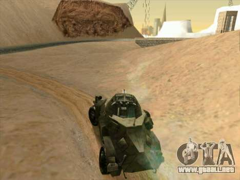 SdKfz.222 para la visión correcta GTA San Andreas