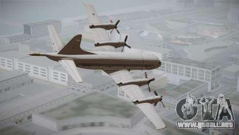 German Navy P-3C Orion MFG 3 50th Anniversary para GTA San Andreas left