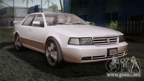 MP3 Fathom Lemanja LX SA Mobile para GTA San Andreas