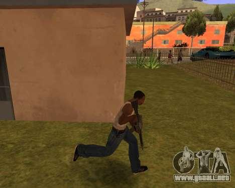 New Animation by EazyMo para GTA San Andreas tercera pantalla