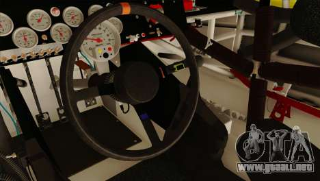 NASCAR Toyota Camry 2013 para la visión correcta GTA San Andreas