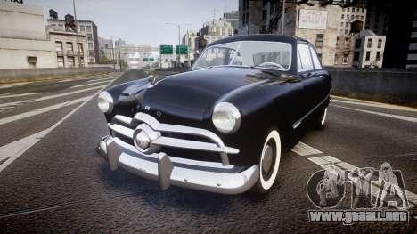 Ford Custom Club 1949 v2.1 para GTA 4
