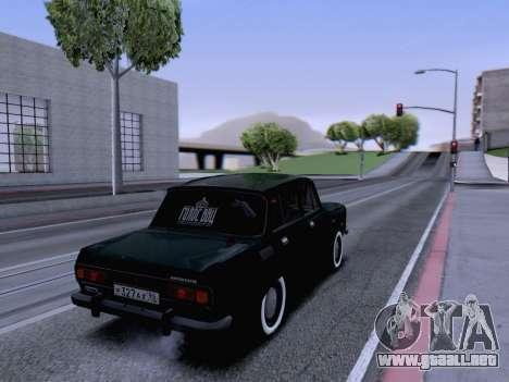 AZLK 2140 para GTA San Andreas vista posterior izquierda