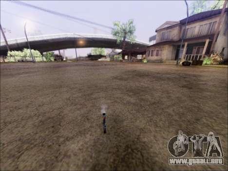 El Lanzamiento De Fuegos Artificiales para GTA San Andreas segunda pantalla