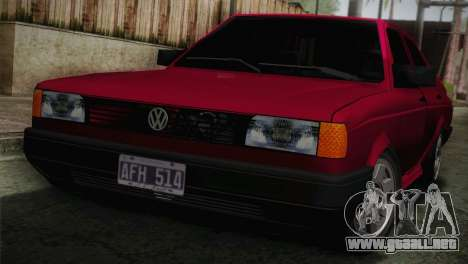 Volkswagen Senda para GTA San Andreas vista hacia atrás