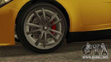 GTA 5 Coil Voltic v2 SA Mobile para GTA San Andreas vista posterior izquierda