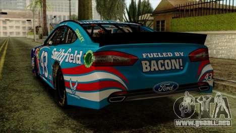 NASCAR Ford Fusion 2013 para GTA San Andreas left