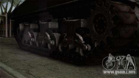 M4 Sherman para la visión correcta GTA San Andreas