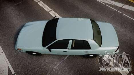 Ford Crown Victoria 2007 para GTA 4 visión correcta