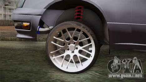 Nissan Cedric para GTA San Andreas vista posterior izquierda