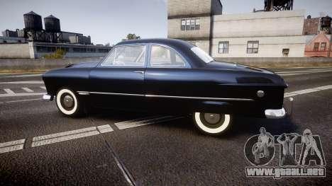 Ford Custom Club 1949 v2.1 para GTA 4 left