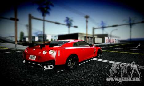 Blacks Med ENB para GTA San Andreas segunda pantalla