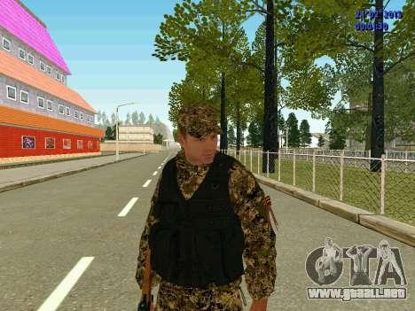 Las flechas de la milicia no molestar para GTA San Andreas segunda pantalla