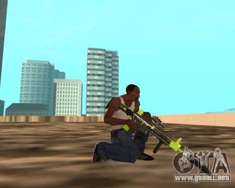 Sharks Weapon Pack para GTA San Andreas sexta pantalla
