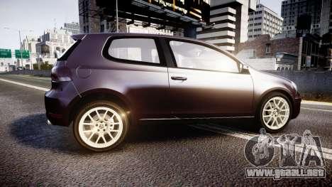 Volkswagen Golf Mk6 GTI rims2 para GTA 4 left