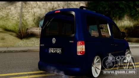 Volkswagen Caddy v1 para GTA San Andreas left