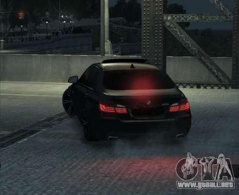 BMW M5 F10 2014 para GTA 4 visión correcta