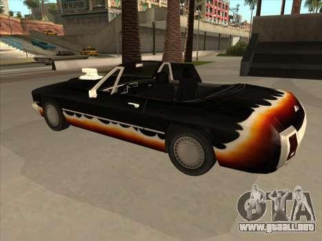 Diablo Stallion из GTA 3 para GTA San Andreas vista hacia atrás