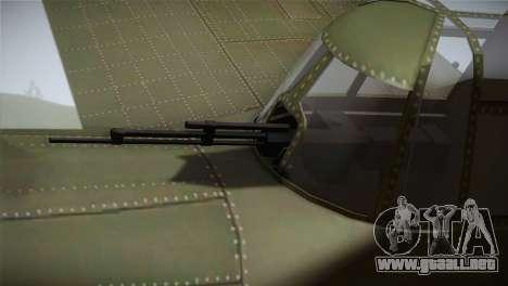 ИЛ-10 de la Fuerza Aérea China para la visión correcta GTA San Andreas