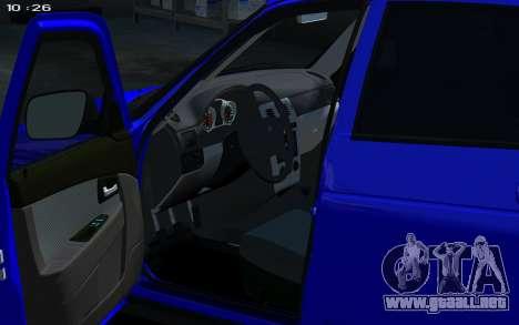 Lada 2172 2012 para GTA 4 visión correcta