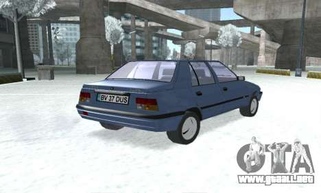 Dacia Super Nova para GTA San Andreas left