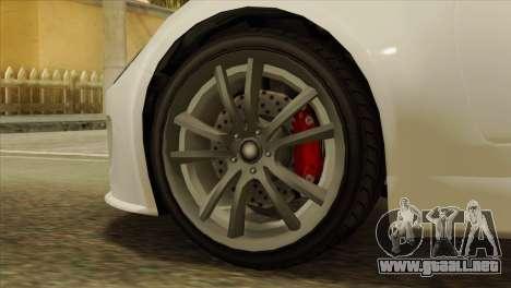 GTA 5 Coil Voltic v2 IVF para GTA San Andreas vista posterior izquierda