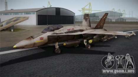 F-18 Hornet (Battlefield 2) para GTA San Andreas