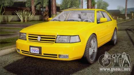 MP3 Fathom Lemanja LX para GTA San Andreas