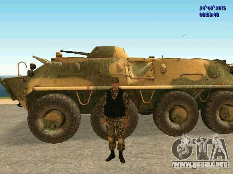 Las flechas de la milicia no molestar para GTA San Andreas sexta pantalla