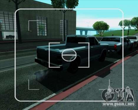 Real ENB Series para GTA San Andreas sucesivamente de pantalla