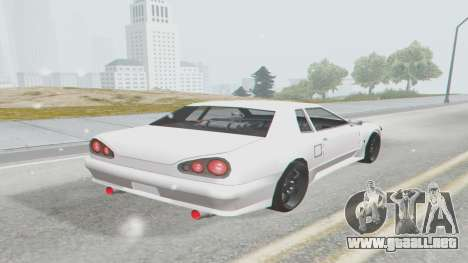 Elegy Facelift S15 para GTA San Andreas left