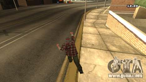 Mezclan estilos de lucha para GTA San Andreas