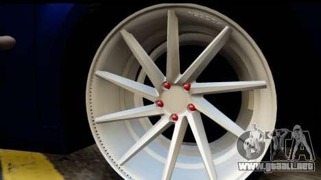 Volkswagen Caddy v1 para la visión correcta GTA San Andreas
