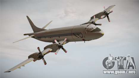 German Navy P-3C Orion MFG 3 50th Anniversary para GTA San Andreas vista posterior izquierda
