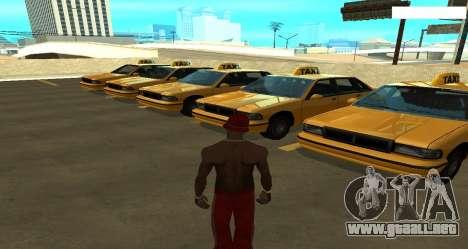ENB los Reflejos en los coches para GTA San Andreas sucesivamente de pantalla
