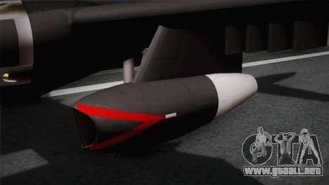 P2V-7 Lockheed Neptune RCAF para la visión correcta GTA San Andreas