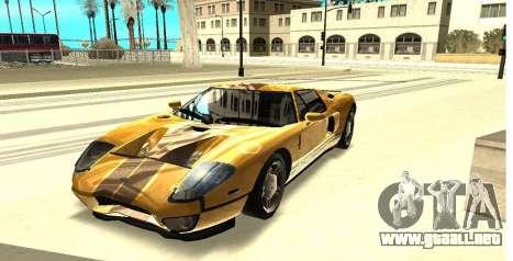ENB los Reflejos en los coches para GTA San Andreas