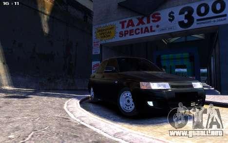 Lada 2110 para GTA 4 visión correcta