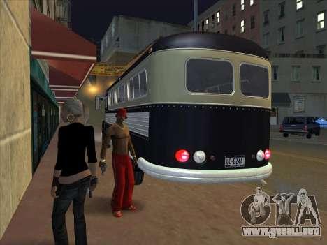 Autobús из GTA 3 para GTA San Andreas vista hacia atrás