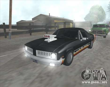 Diablo Stallion из GTA 3 para GTA San Andreas