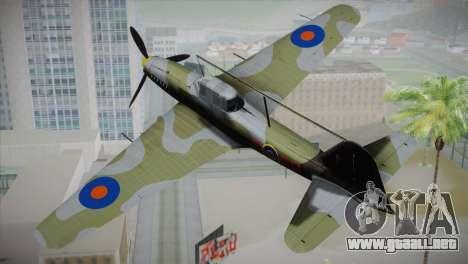 ИЛ-10 de la Royal Air Force para GTA San Andreas left