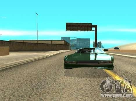 ENB los Reflejos en los coches para GTA San Andreas segunda pantalla